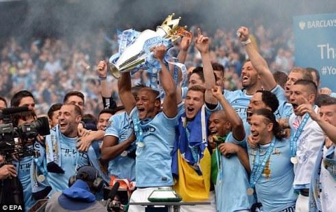 City win the league